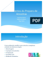 Fundamentos Do Preparo de Amostras