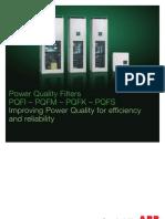 Power Quality, Pqfi Pdfm Pqfk Pqfs