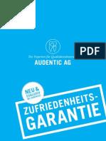Zahnersatz von der Audentic AG