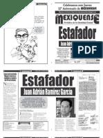 Versión impresa del periódico El mexiquense 23 mayo 2012