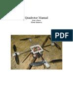 Front Matter Quadrotor