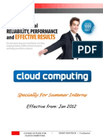 6 Weeks Summer Training Cloud Computing