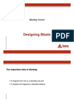 Blasting Technology - Blast Design