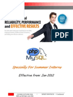6 Weeks Summer Training Php Php++