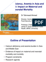 Ahmed_Calcium Deficiency, Anemia in Asia and Middle East_Impact on Maternal and Neonatal Mortality