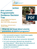 Galloway_Anemia Prevention and Control_Programmatic Guidance Decision Tree