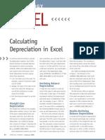 Calculating Depreciation on Excel 01_2009_excel