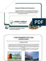 Dda - Deposito Distinto Aduanero