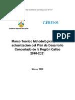 Marco Teorico Metodologico PDCR Callao