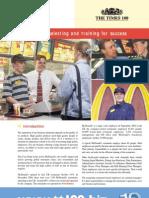 McDonalds - Recruitment & Selection & Training