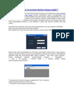 Form Login Dan Sign Up Berbasis Database Dengan Delphi 7