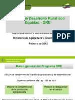Intercambio de Secretarias Departamentales - Programa de Desarrollo Rural con Equidad