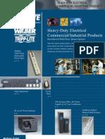 Redes Tripp Lite Catalogo Productos Eléctricos, Comerciales, Industriales de Alta Potencia www.Logantech.com.mx Mérida, Yuc.