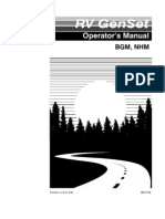 Generator - Onan NHM Operators Manual