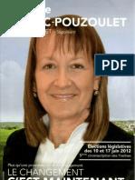 Programme de Michèle Vitrac Pouzoulet pour les électios législatives dans la 5e circonscription des Yvelines