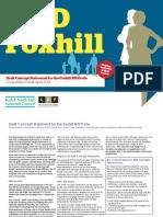 MoD Foxhill Concept Statement - Consultation Version 180412