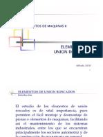 Elementos de Union Roscadas