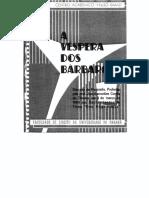 A véspera dos bárbaros - José Lamartine Correa Oliveira