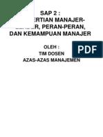 Sap 2 Manajemen