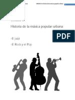 Unidad 6 Jazz Rock Pop