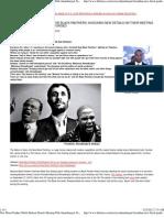 New Black Panther Malik Shabazz Details Meeting With Ahmadinejad Farrakhan