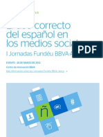 Correcto uso del español en internet bbva