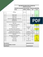 25.Rotary Actuator Calculation