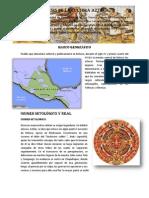 Síntesis de la cultura azteca