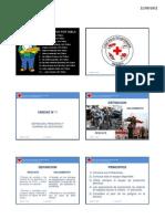 Tecnicas de Rescate 2011 - 2012 Itscre