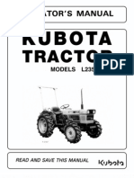 kubota l2900dt tractor illustrated master parts list manual download
