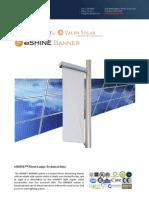 Ember Led - Eshine Solar Led Banner Light