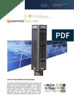 Ember Led - Eshine Solar Led Bollard Light