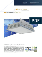 Ember Led - Eshine Solar Led Canopy Light - Recessed