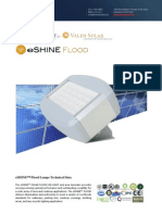 Ember Led - Eshine Solar Led Flood Light