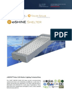 Ember Led - Eshine Solar Led Shelter Light