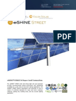 Ember Led - Eshine Solar Led Street Light 65 Degree