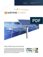 Ember Led - Eshine Solar Led Street Light 85 Degree Wide