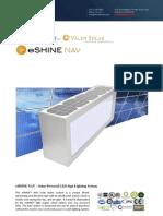 Ember Led - Eshine Solar Led Street Name Light