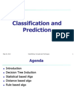 Classification and Prediction Final
