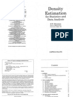 Density Estimation for Statistics and Data Analysis - Silverman