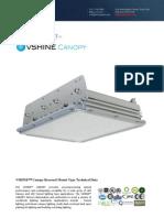 Ember Led - Vshine Led Canopy Light - Recessed
