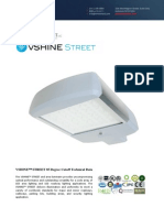 Ember Led - Vshine Led Street Light 85 Degrees Wide