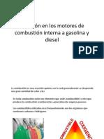 Reaccion Motor a Gasolina y Motor Diesel