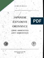 Japanese Explosive Ordnance TM9-1985-5
