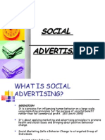 14285478 Social Advertising Ppt