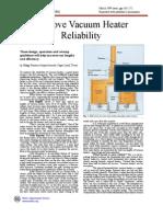 Improve Vacuum Heater Reliability