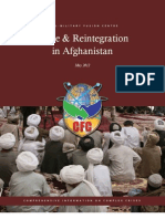 Afghanistan Peace and Reintegration Volume