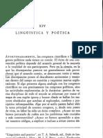 2011 Jakobson Llinguistica y Poetica