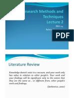 Lecture 2 RMT