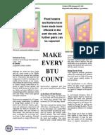 Make Every BTU Count